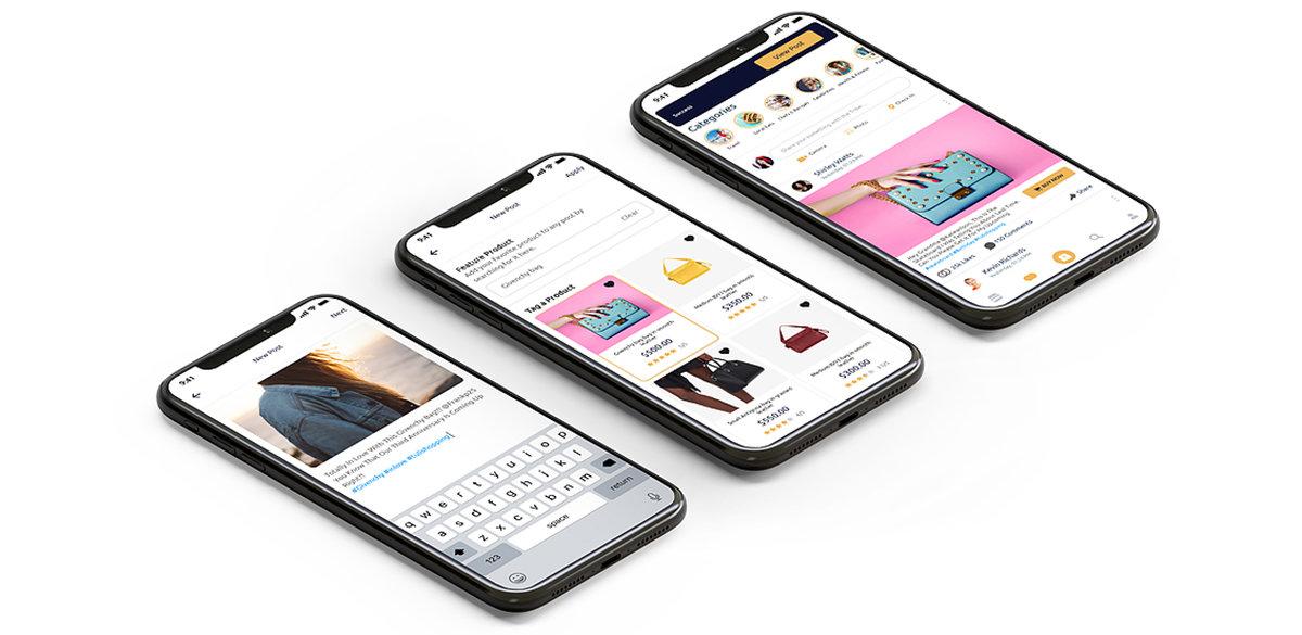 Ett nytt socialt e-köpcentrum