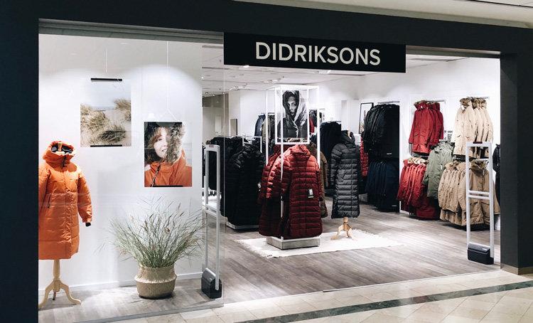 Didriksons öppnar pop up i köpcentrum