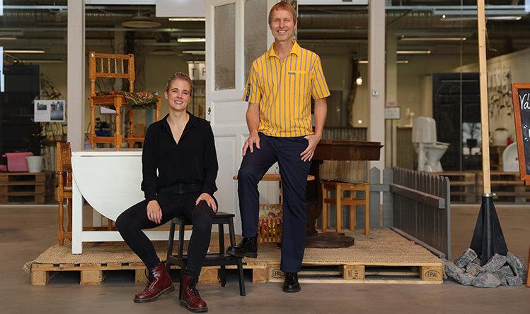 Världens första Ikea-butik för återbruk