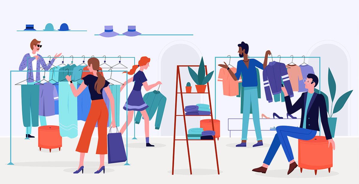 Closet Retail tar butiken till kunderna