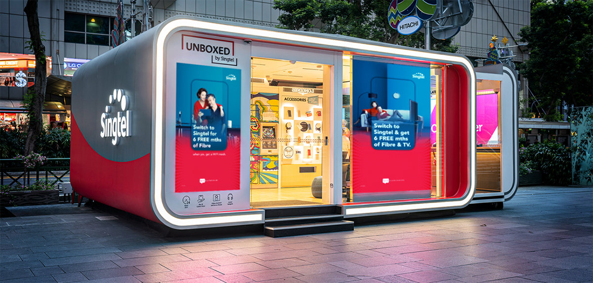 Nya 5G-upplevelser i årets bästa butik