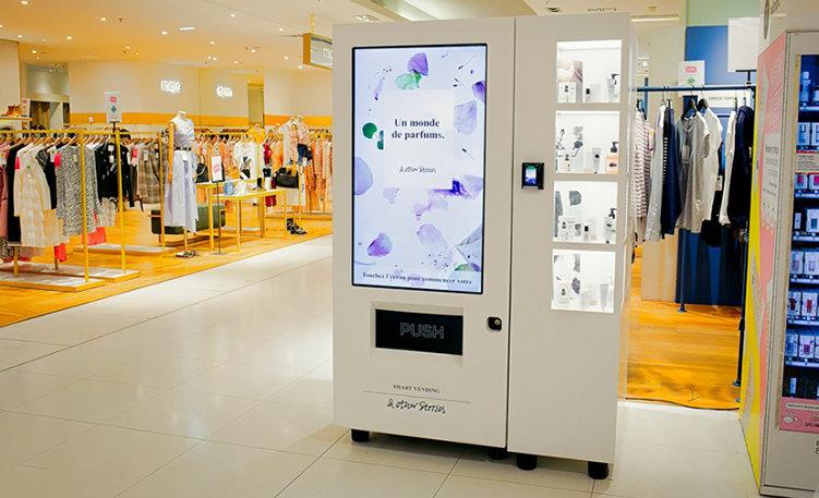 Testar automat hos Galeries Lafayette