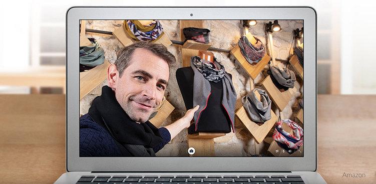 Virtuella shoppingresor med Amazon