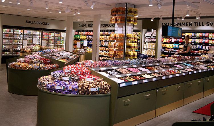 Godisbutik med fokus på hållbarhet