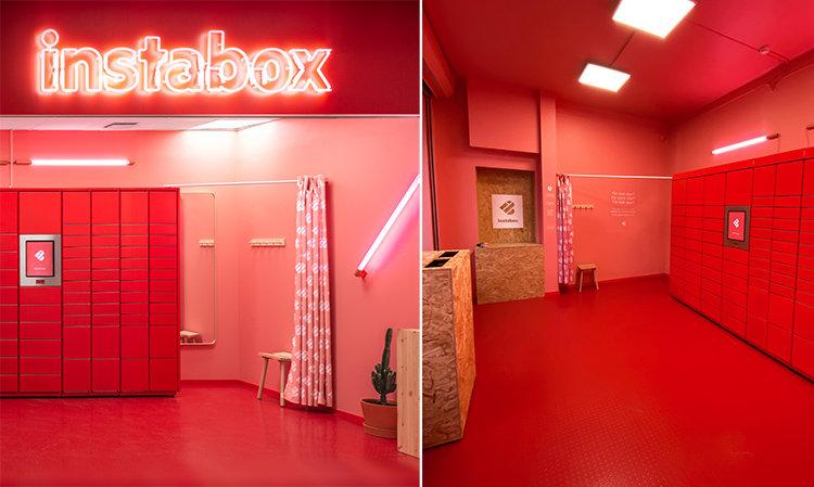 Instabox öppnar butik i köpcentrum