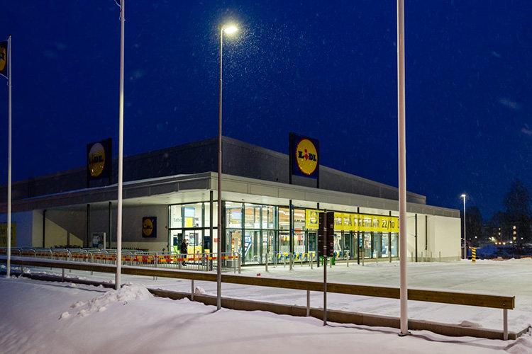 Lidl har öppnat sin nordligaste butik