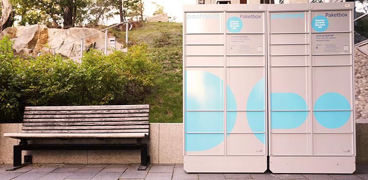 Här testas PostNords paketboxar