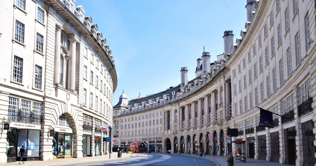 Så ser framtidens Regent Street ut