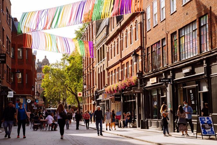 Londonområde lyfter nya varumärken
