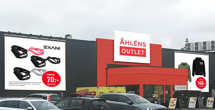 Åhléns Outlet öppnar i Växjö