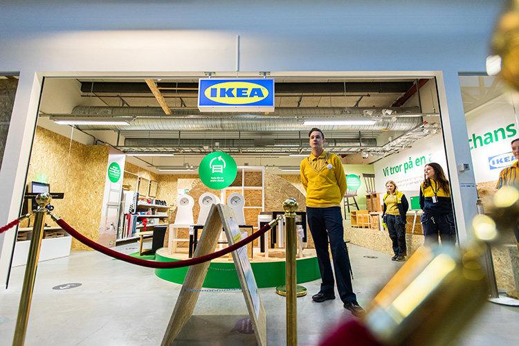 Premiär för Ikeas cirkulära återbruksbutik
