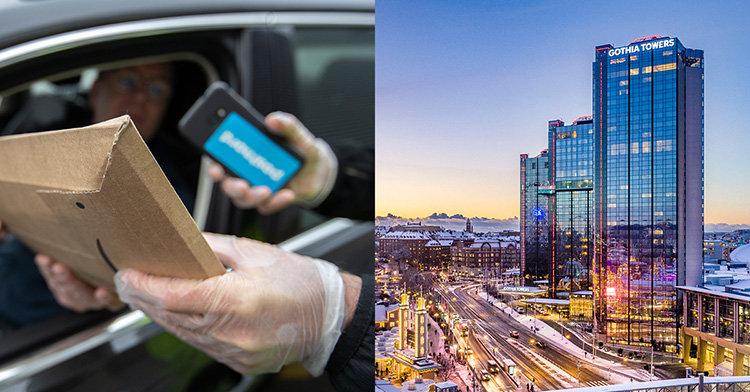Curbside pickup och digital kö hos PostNord
