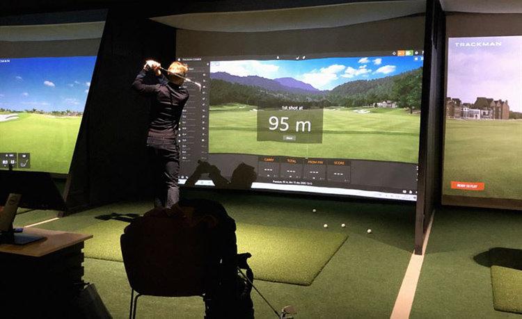 Virtuell golf stärker utbud av upplevelser