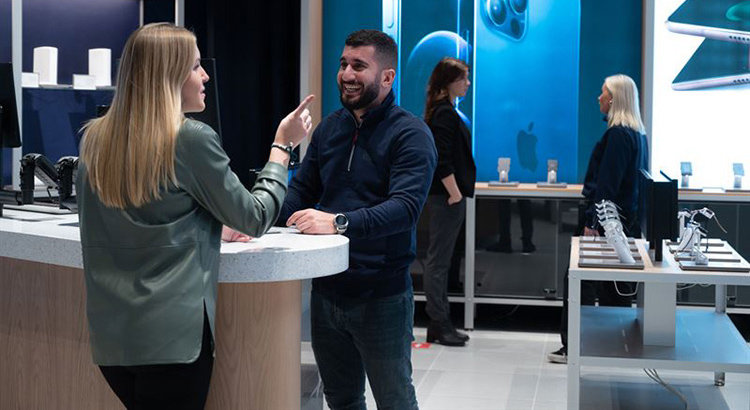 Nytt butikskoncept erbjuder 5G-upplevelser
