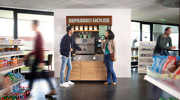 Espresso House flyttar in hos Preem
