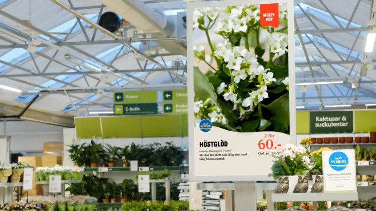 Blomsterlandet digitaliserar upplevelsen