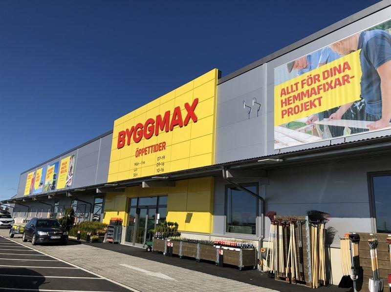 Sex nya butikslägen klara för Byggmax