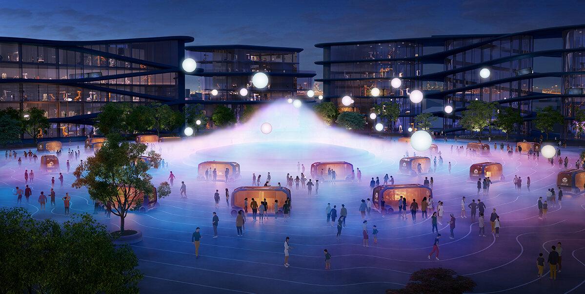 Här byggs prototypen för framtidens stad