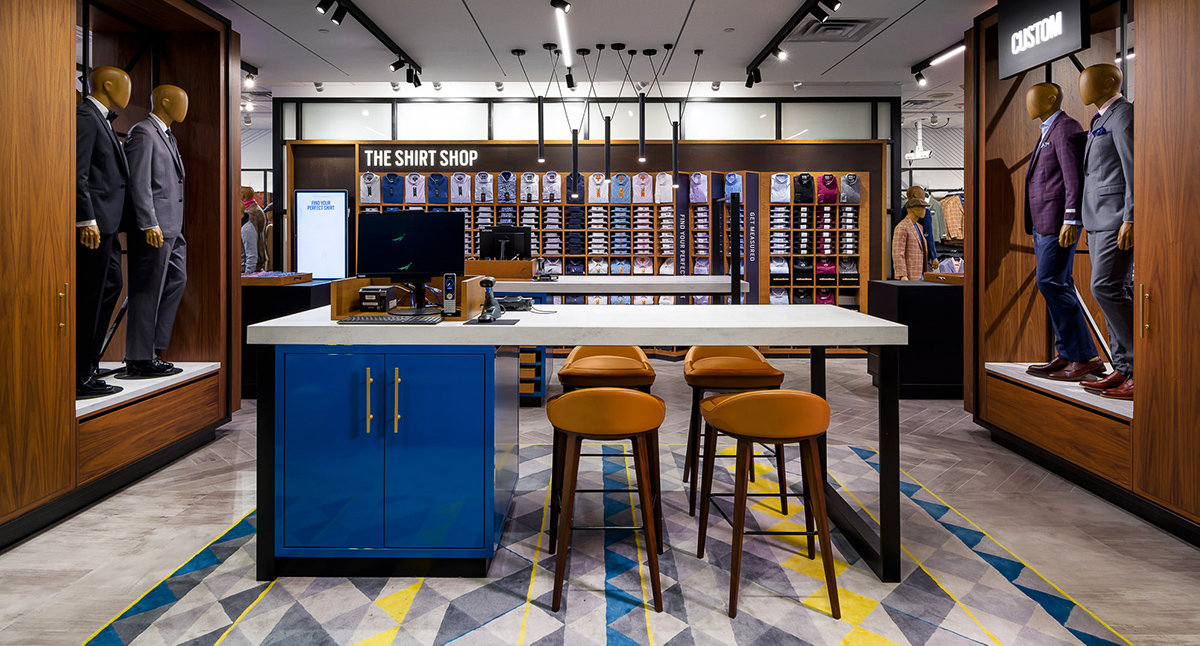 Kedja öppnar den nya tidens modebutik