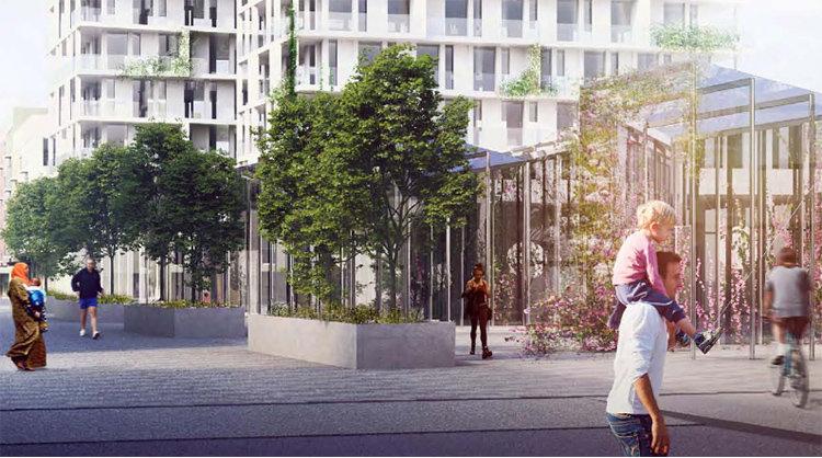 Centrum vill bli södra Stockholms stadskärna