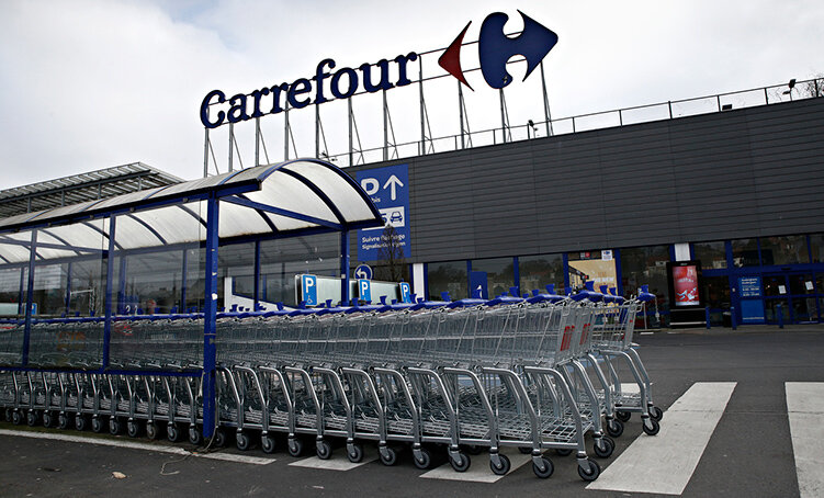 Carrefour bygger in outlet i butiken