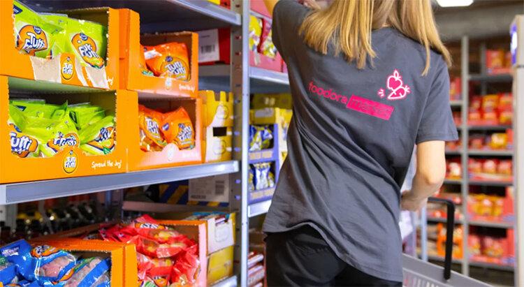 Foodoras dark stores del av större trend
