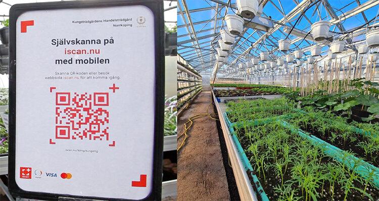 Digital självbetjäning i gårdsbutiken