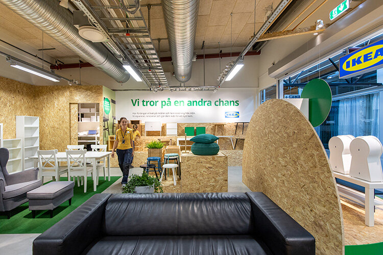 Testbutiken ger Ikea nya hållbara insikter