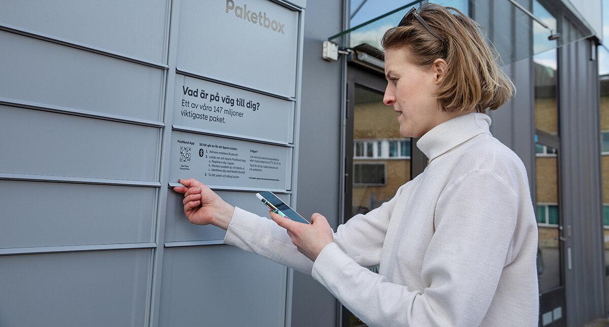 PostNord och HSB i samarbete kring paketboxar