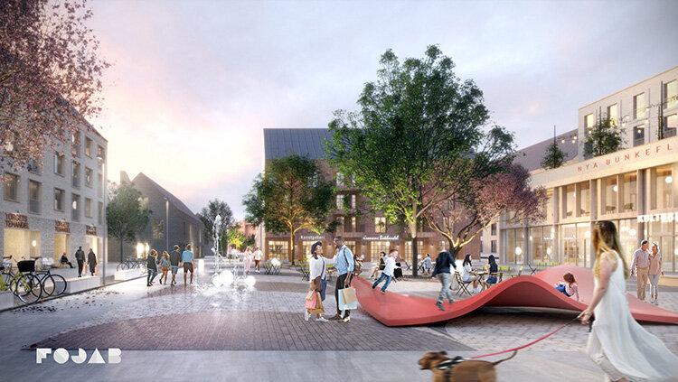 Nytt hållbart centrum i Malmö
