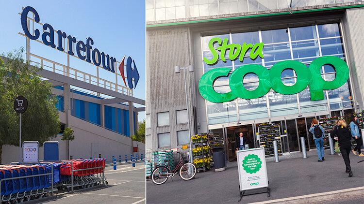 Coop inleder samarbete med Carrefour