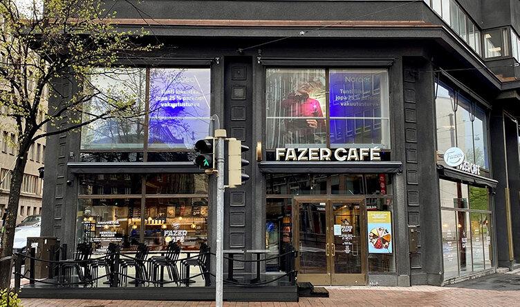 Fazer expanderar sitt cafékoncept