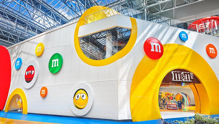 M&M'S omfamnar  det lokala i nytt koncept
