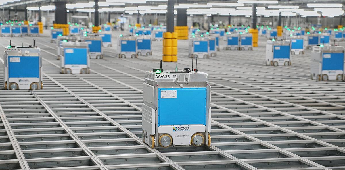 E-dagligvaror optimeras med AI och robotar