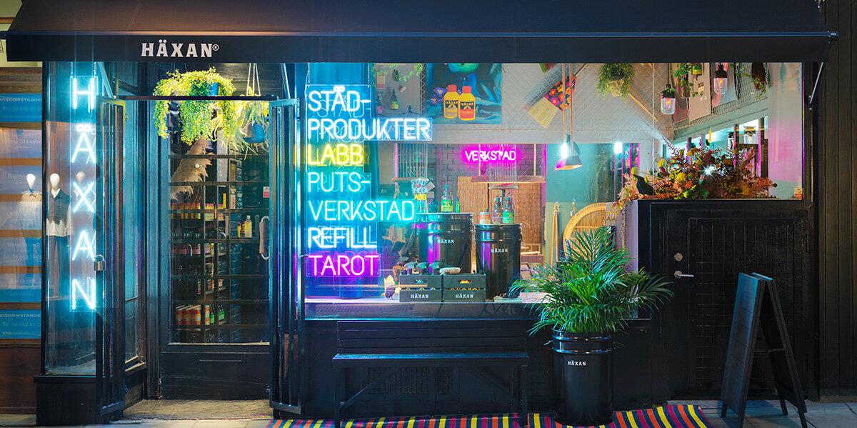 Innovativ retail i Häxans magiska butik