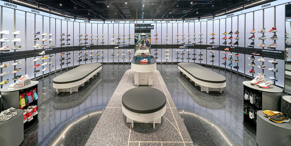 RFID och hälsofokus i Nikes senaste koncept
