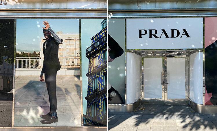 Prada öppnar nytt koncept i Stockholm