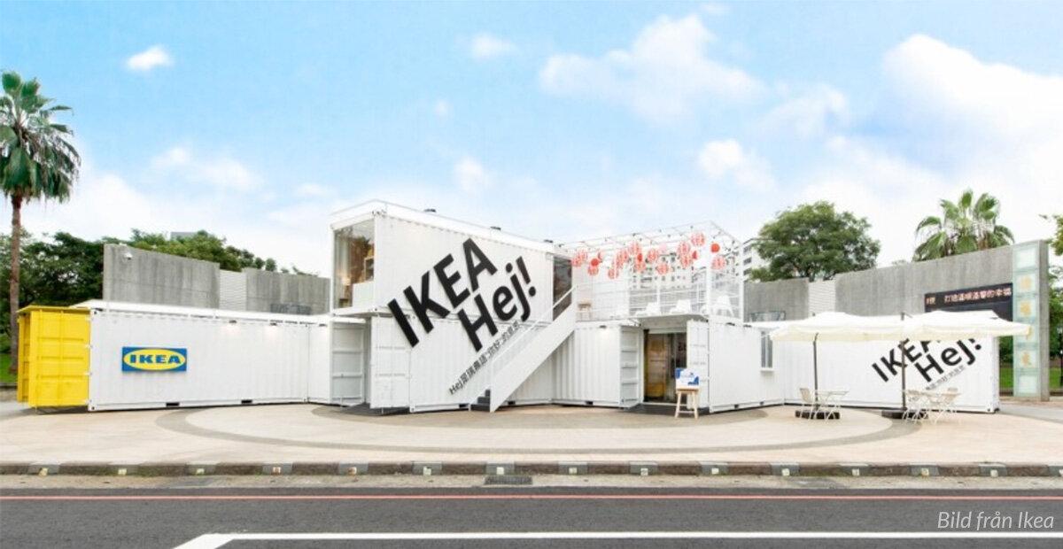 Ikea lanserar mobilt containerkoncept