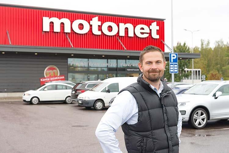 Finska Motonet etablerar sig i Sverige