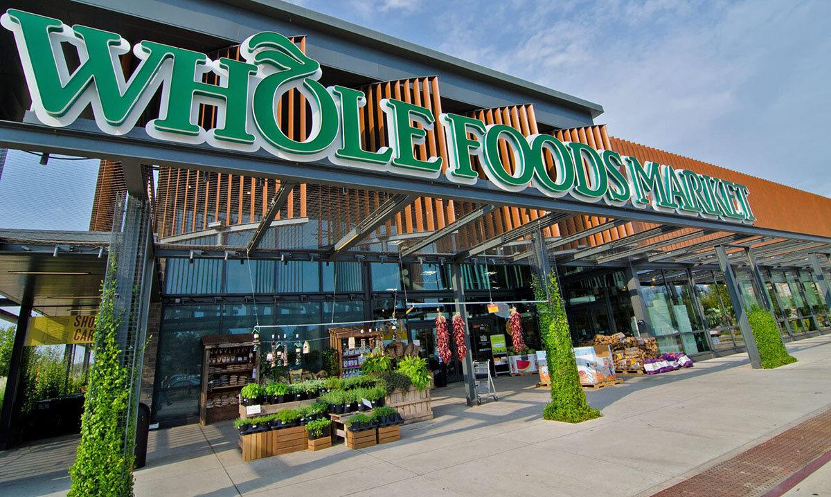 Kassalöst och automatiskt Whole Foods Market