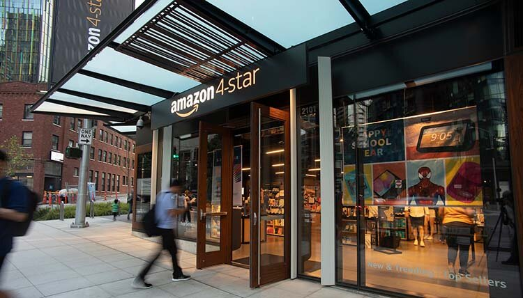 Premiär för Amazon 4-star i Europa