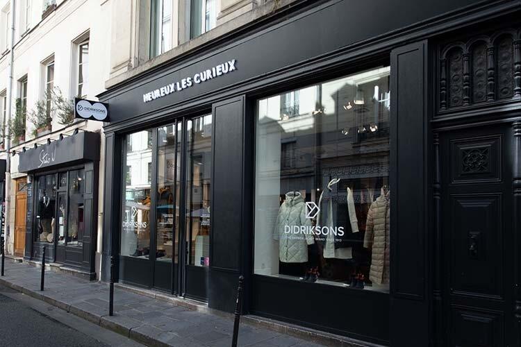Didriksons öppnar butik i Paris