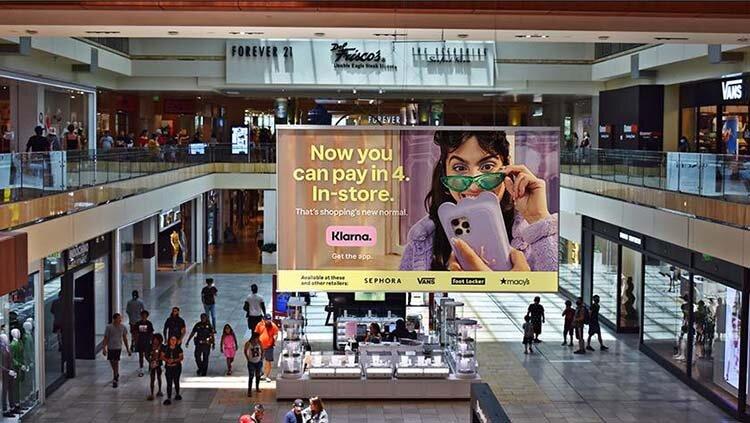 Klarna i samarbete med köpcentrumkedja