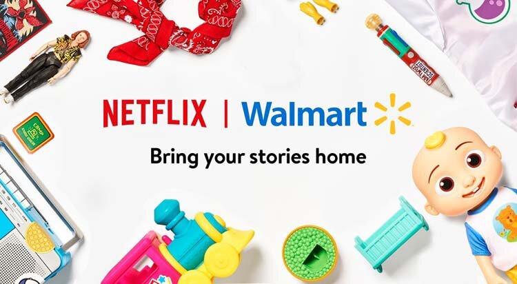 Netflix och Walmart i samarbete