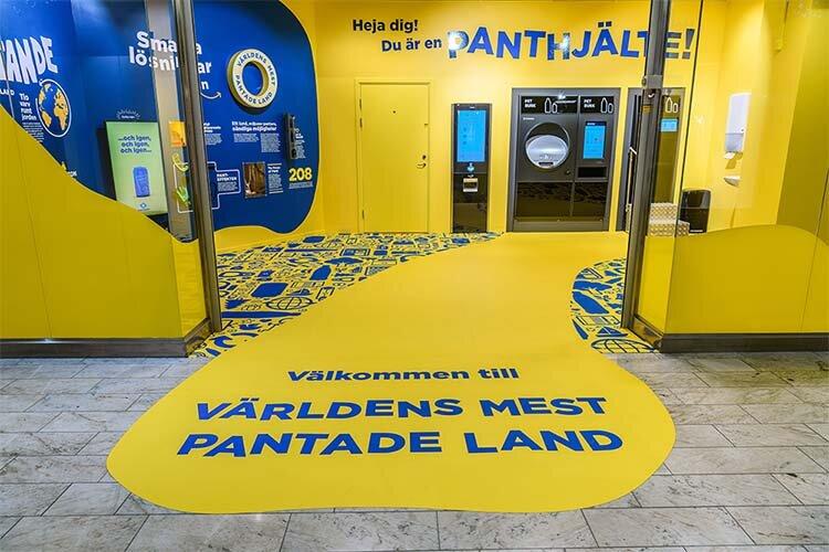 Pantamera öppnar returstation i tunnelbanan